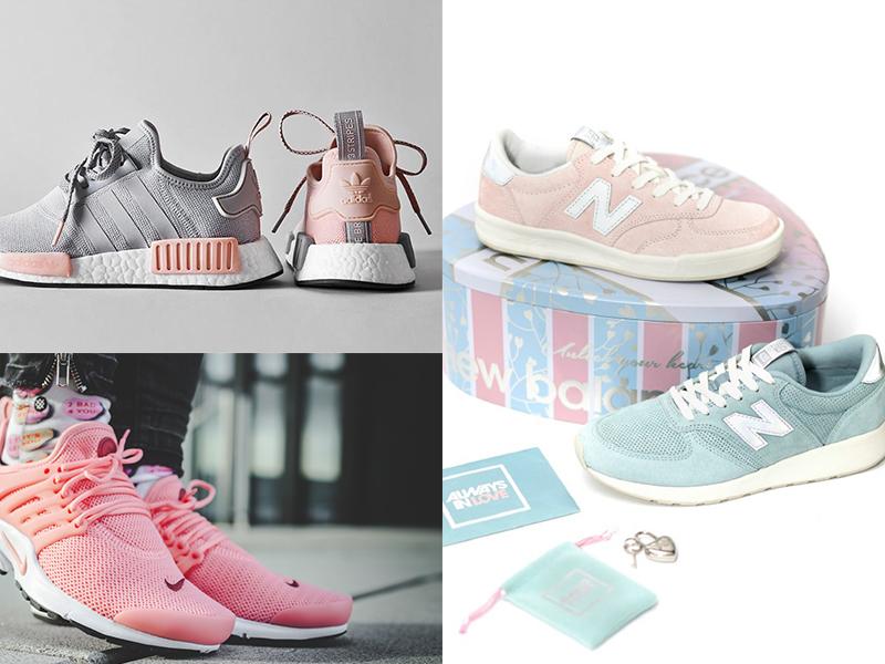 5對大熱款推介!Adidas、Nike推出新粉色系波鞋