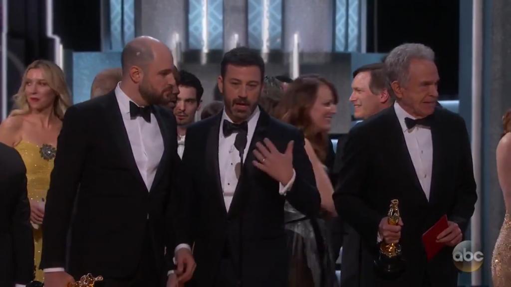 最佳電影烏龍頒錯獎 《La La Land》 一念天堂一念地獄