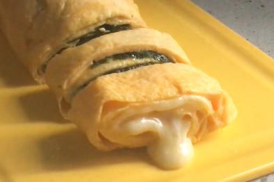 極速自製醒神早餐!日式紫菜芝士玉子燒