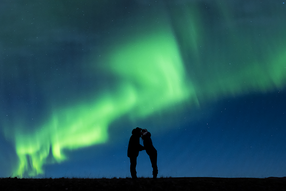 夢幻求婚足足籌備5年!攝影師北極光下浪漫求婚