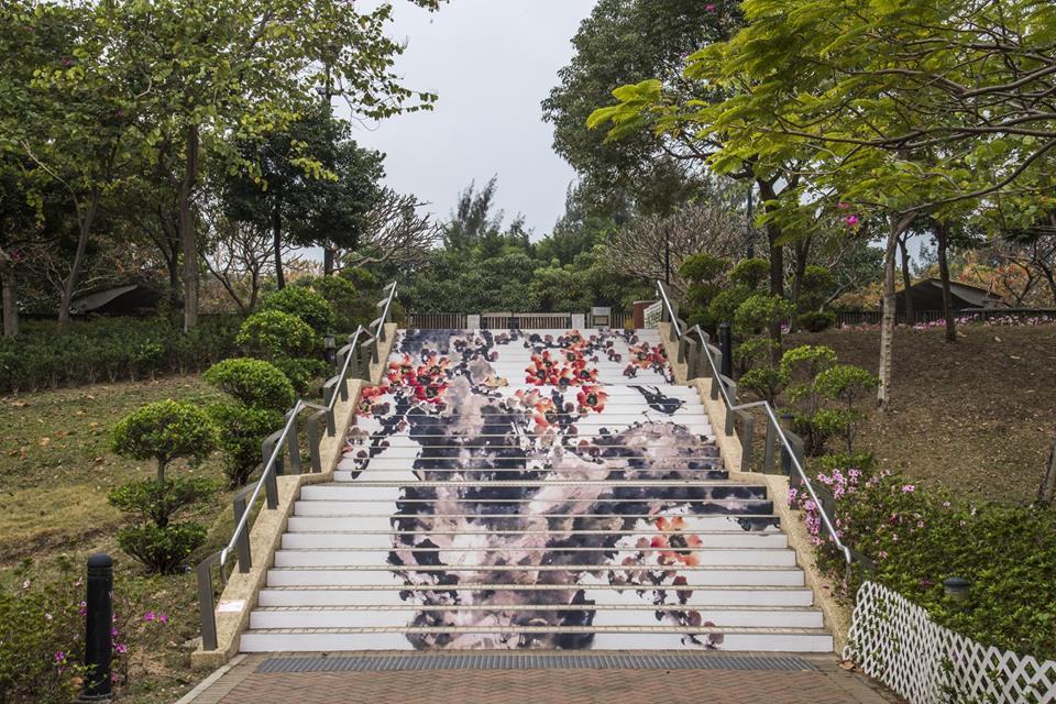 巨型貓貓樓梯!遍佈港九新界20條超美藝術樓梯