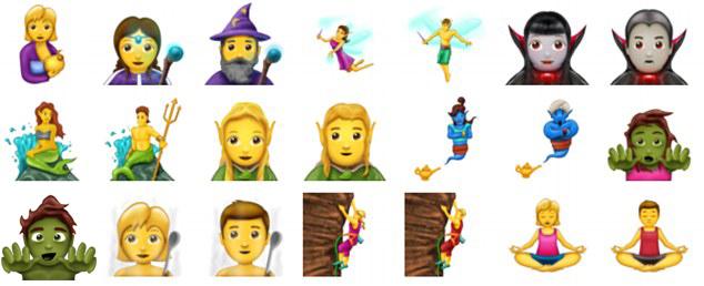 嬲到爆粗兼嘔出嚟!官方公布56款新Emoji