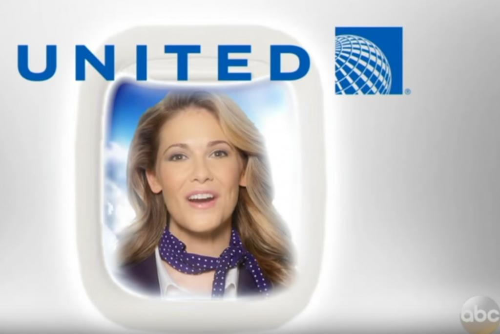 爆粗串爆聯合航空 美國節目惡搞宣傳片抽水