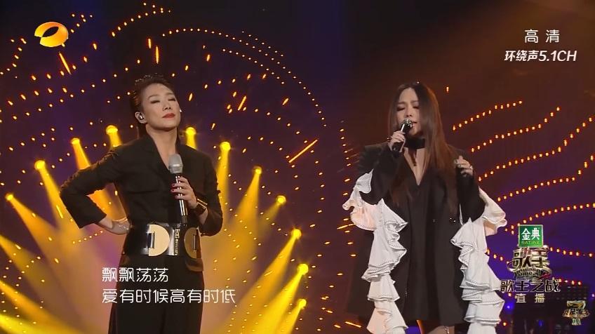 林憶蓮《歌手》奪冠  張惠妹決賽助陣 二人合唱金曲