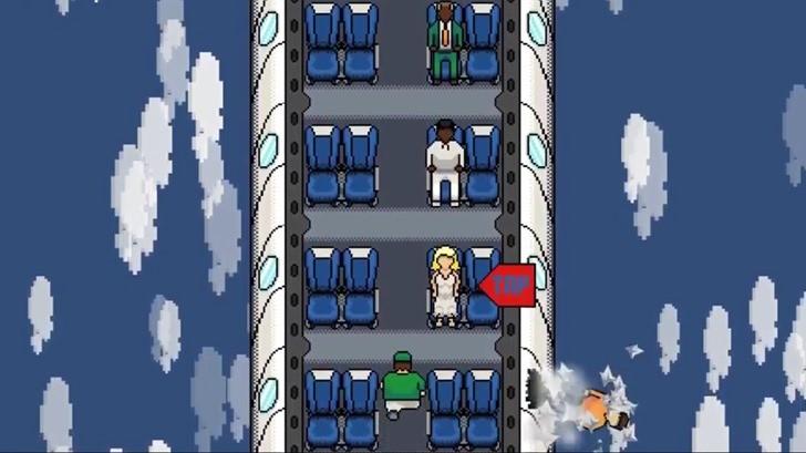 一拳打走乘客!聯位航空虐客事件出手遊