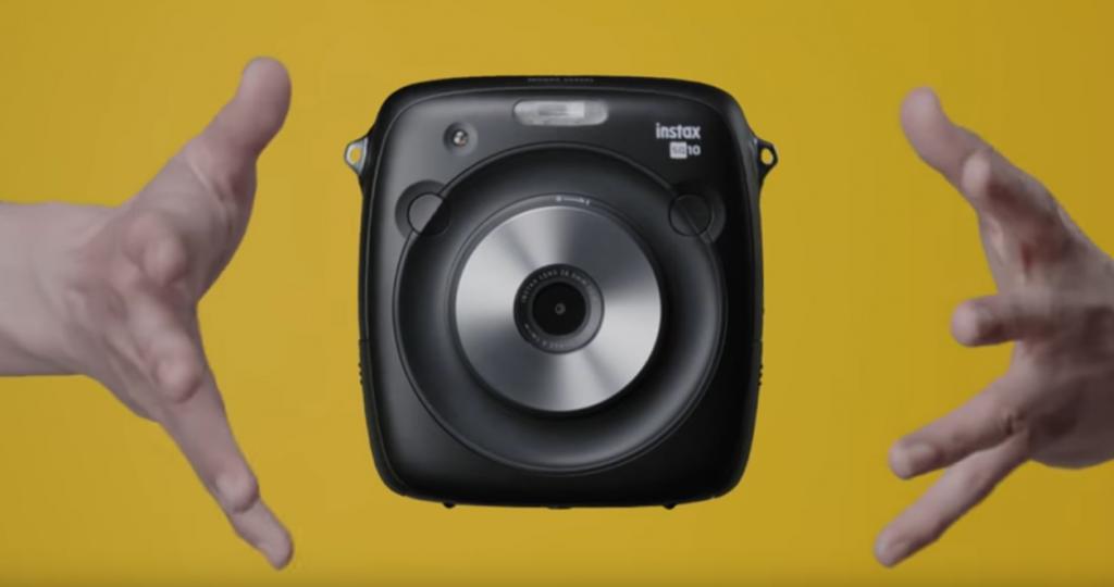Fujifilm推新即影即有相機 正方形相紙10種Filter執靚先印
