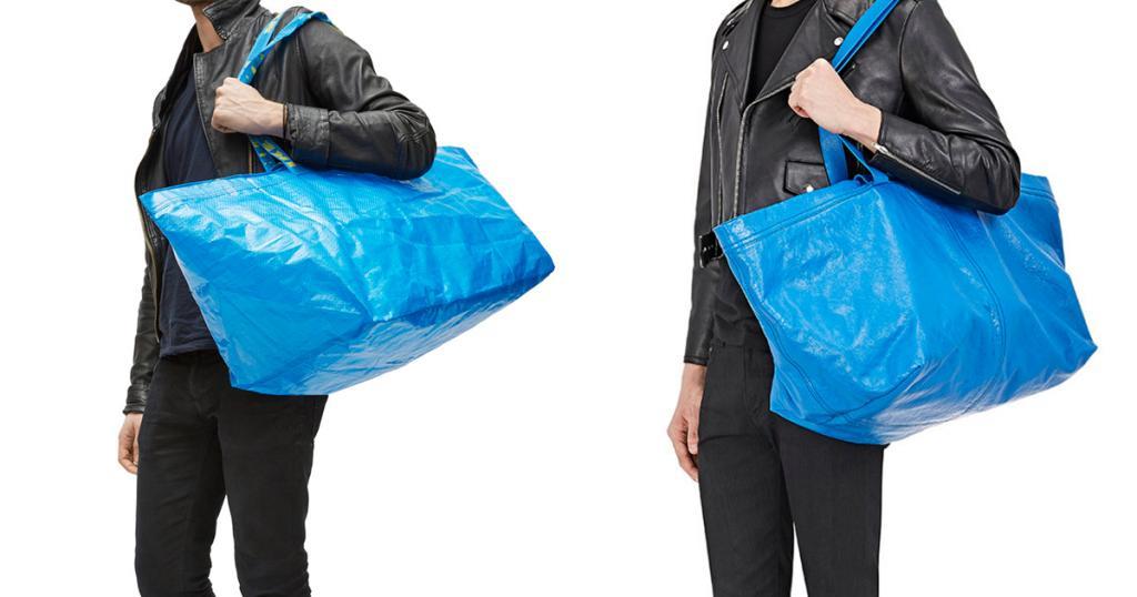 IKEA神級公關!抽水回應$5購物袋撞款 教你分辨正貨