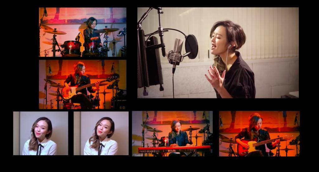樂壇女新人陳明憙 一人樂隊翻唱《前前前世》