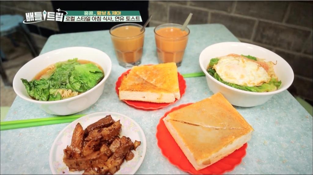 韓國綜藝介紹香港最佳行程 飲飲食食佔一半