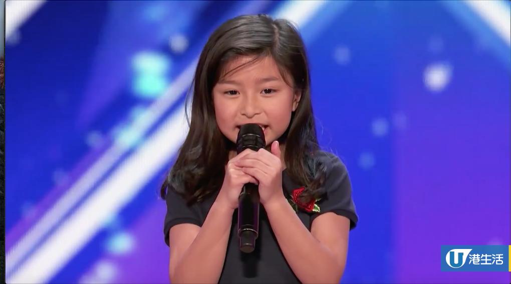 香港9歲女童《全美一叮》唱名曲《My Heart Will Go On》