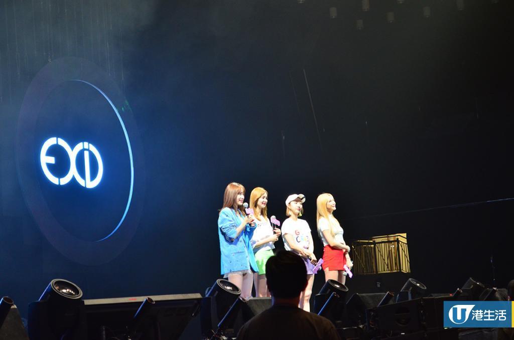 EXID香港開騷賣力唱 Hani性感領舞LE公開噴血比堅尼照