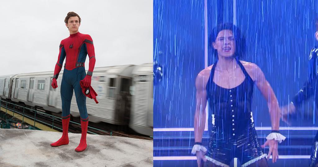 新蜘蛛俠參演模仿騷 穿女裝趷籮姣跳《Umbralla》