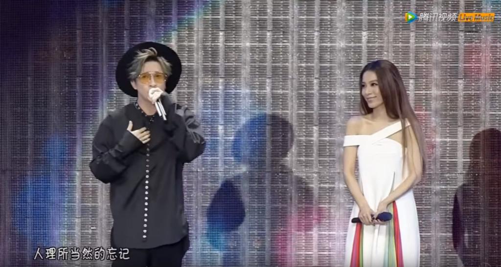 薛之謙Hebe同台演出 合唱《小幸運》《演員》