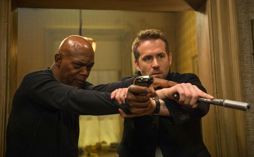 「死侍」賴恩尼諾斯、森姆積遜鬥嘴賤 新戲《保鑣救殺手》8月上映