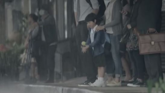 上一次感到幸福……是什麼時候?台灣雨中漫舞廣告