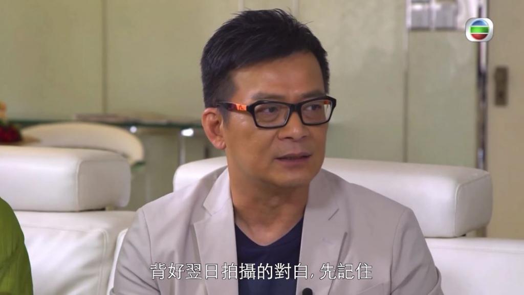 Do姐要求高 啟發演戲態度 黃日華: 「Do姐扔我份劇本出廠」