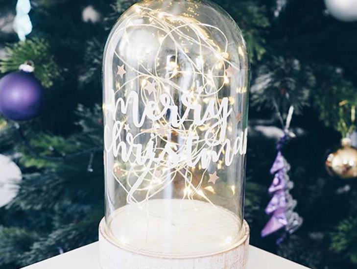 寫上你們的故事!學整聖誕浪漫床頭燈