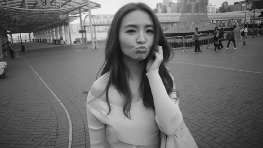林欣彤cover《哪裡只得我共你》 自編自導黑白MV
