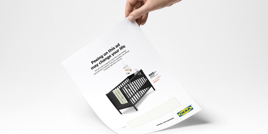 IKEA再爆創意新廣告! 產品目錄題材超大膽 玩「尿」引關注