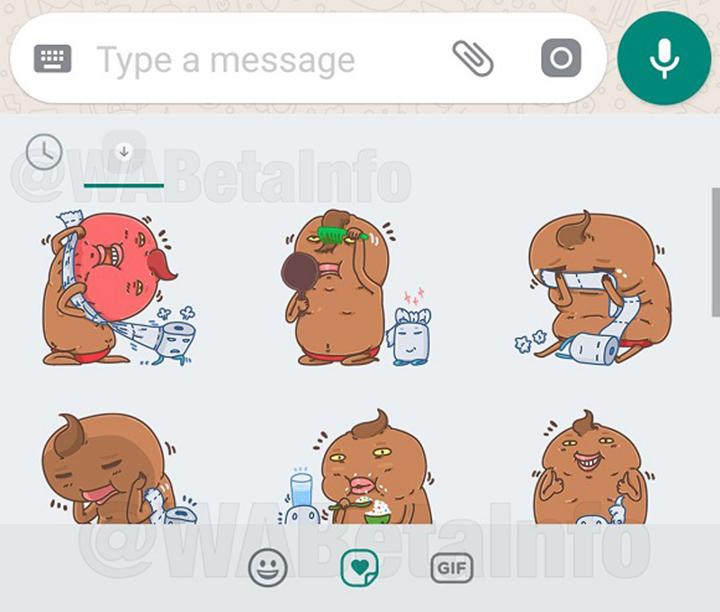 WhatsApp都可以用Sticker 首套貼圖竟然係......