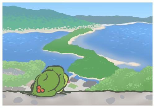 土豪級青蛙!網友神還原 《旅行青蛙》場境