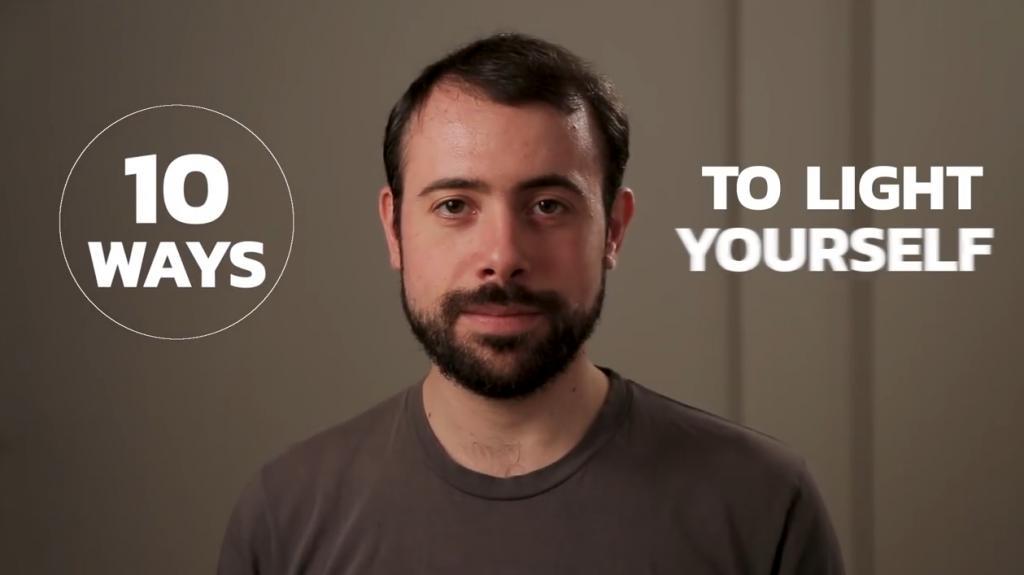 一分鐘速學10招打燈技巧 簡單光影教學!影相拍片有用