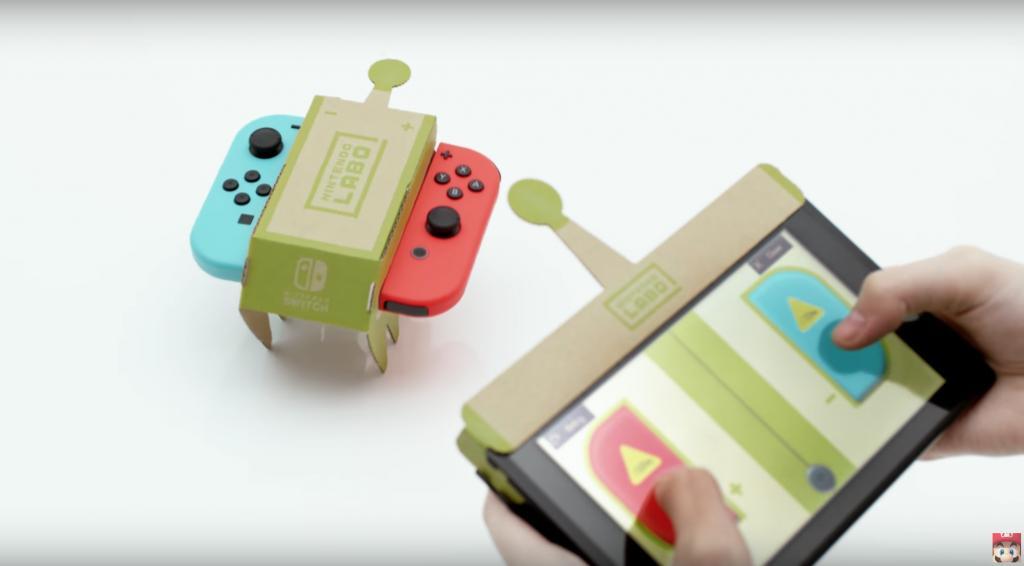 Switch過癮變身遙控車/魚桿 摺紙皮砌玩具!月底有得玩