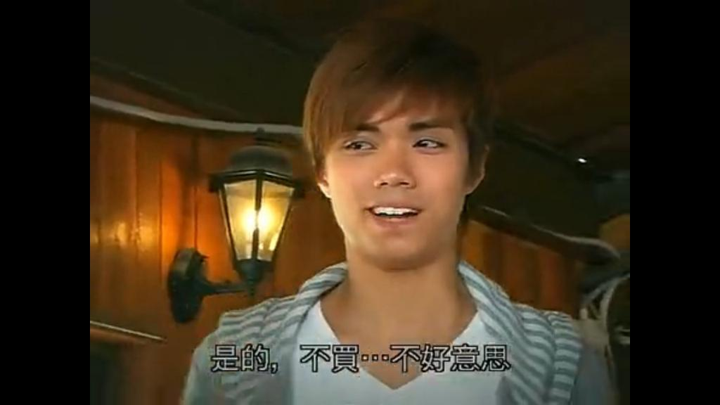 張敬軒都有拍過TVB劇集 10年前仍然係走斯文路線