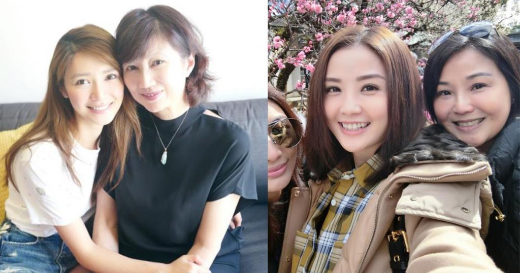 【2018母親節】8位女星與靚媽合照 網友大讚遺傳好基因