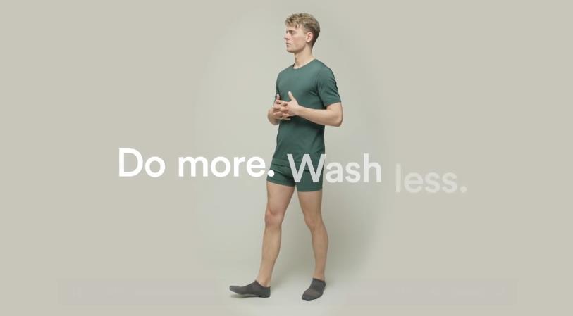著足7日唔使洗!丹麥公司研發免洗內衣褲