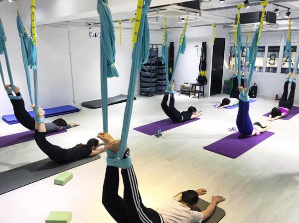 4大抵玩地面瑜伽/空中瑜珈/健身推介!有得免費試堂
