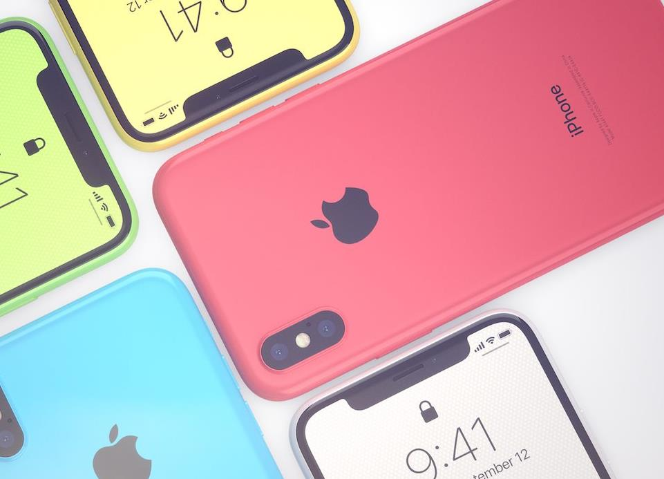 售價平一半 $4500有找!傳蘋果推糖果色平價IPHONE X