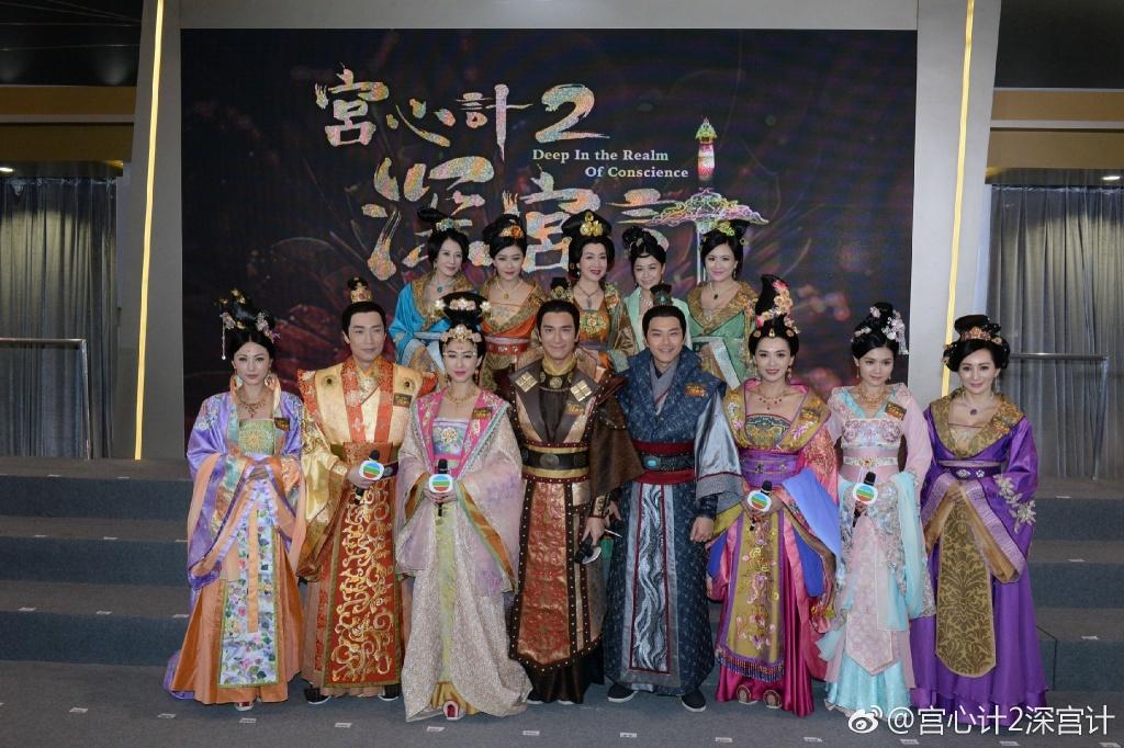 周秀娜首次拍劇因TVB官司而撻Q 《深宮計》預告片佈景板不見人影
