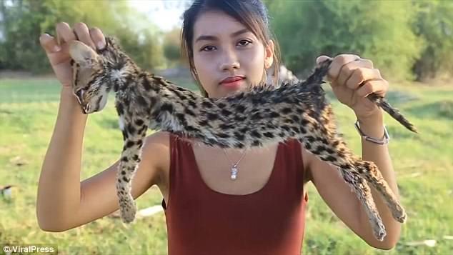 網紅Youtuber為賺錢食瀕臨絕種動物 網民大鬧無人性