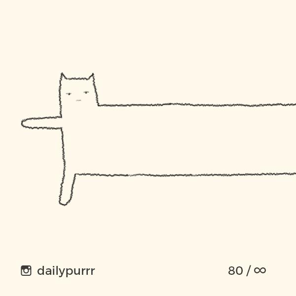 「小學雞風」畫家網上爆紅 幾筆神還原貓貓神髓