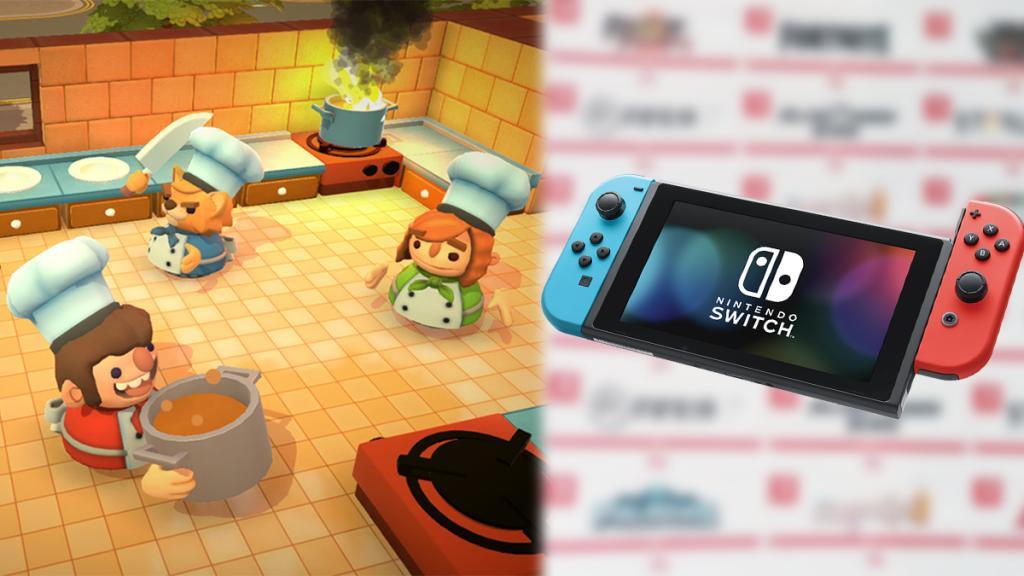 Switch未來新Game清單流出?Overcooked 2、食雞、龍珠都有!