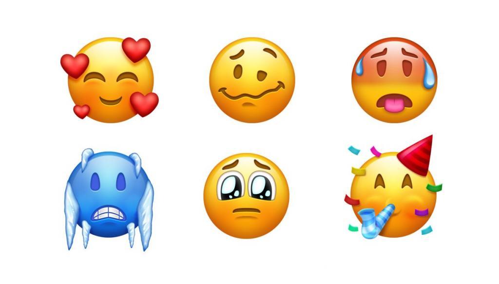 熱到出汗/冧爆樣/醉酒樣都有!157個新Emoji明日推出!