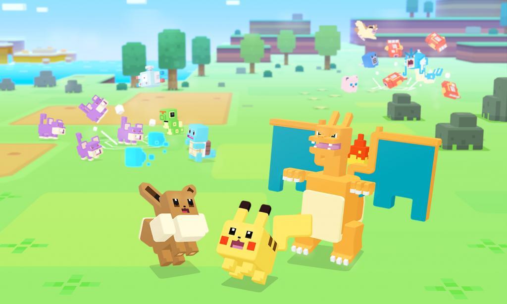 搞笑格仔風格Game《Pokemon Quest》 Switch/手機免費玩!