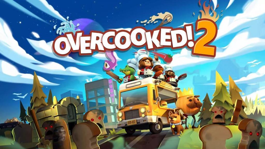 《Overcooked!2》Switch 8月有得玩 新地圖新玩法友誼再受考驗!
