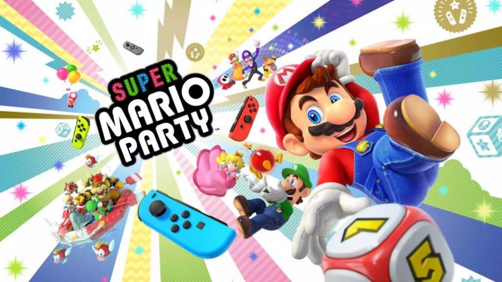 《Super Mario Party》Switch10月出 至啱開Party!兩部Switch連機玩都得