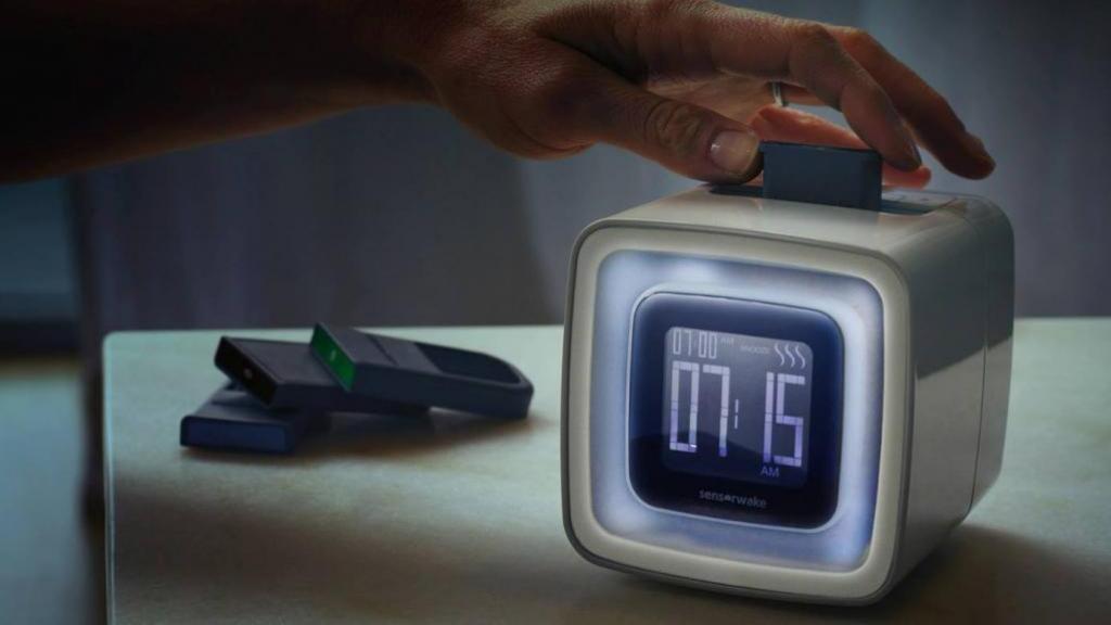 聞住香味起身!智能香氣鬧鐘 用氣味+燈光+音樂香醒你