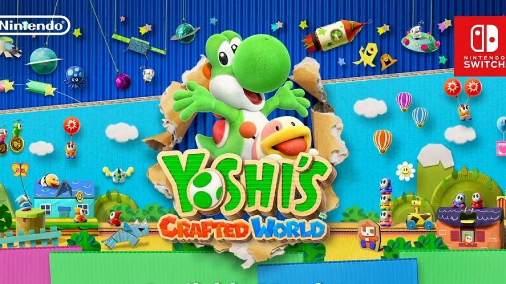 Switch《Yoshi's Crafted World》 2019年3月可愛Yoshi全新大冒險登場!