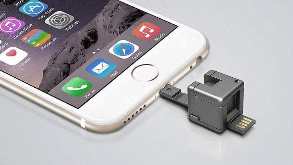萬能骰仔集8大功能於一身 外置充電器/USB/充電線/手機架