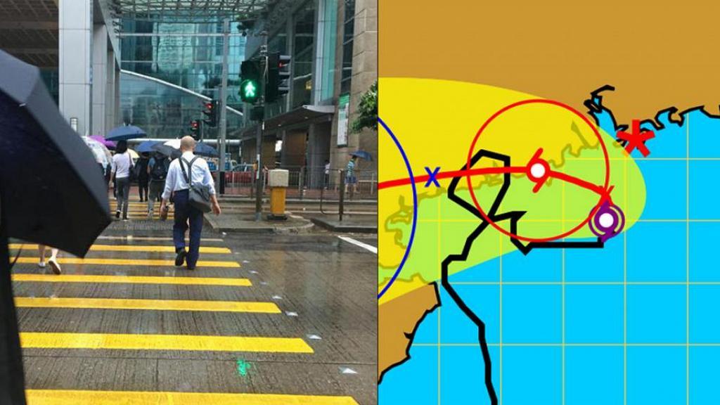 熱帶風暴貝碧嘉逐漸逼近香港!天文台:考慮今晚是否需要改發更高風球