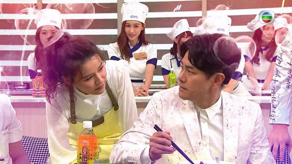 【美女廚房】與黃翠如攞正牌打情罵俏 蕭正楠冧爆女友感動全場