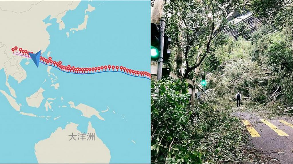 網民預視未來似「山竹」颱風愈來愈多 呼籲正視全球暖化問題