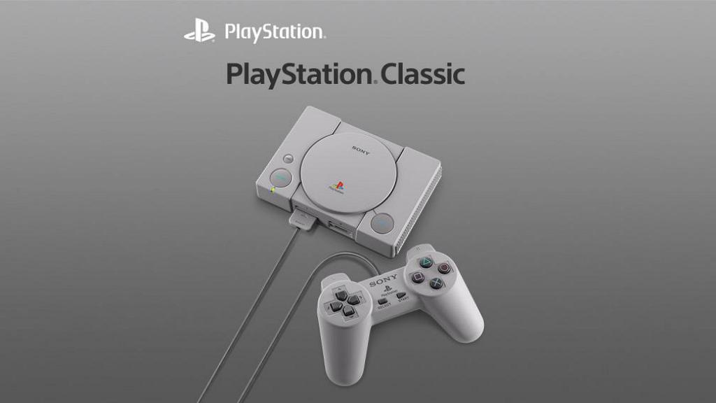 迷你版主機PlayStation Classic12月登場 內置20款經典初代遊戲!