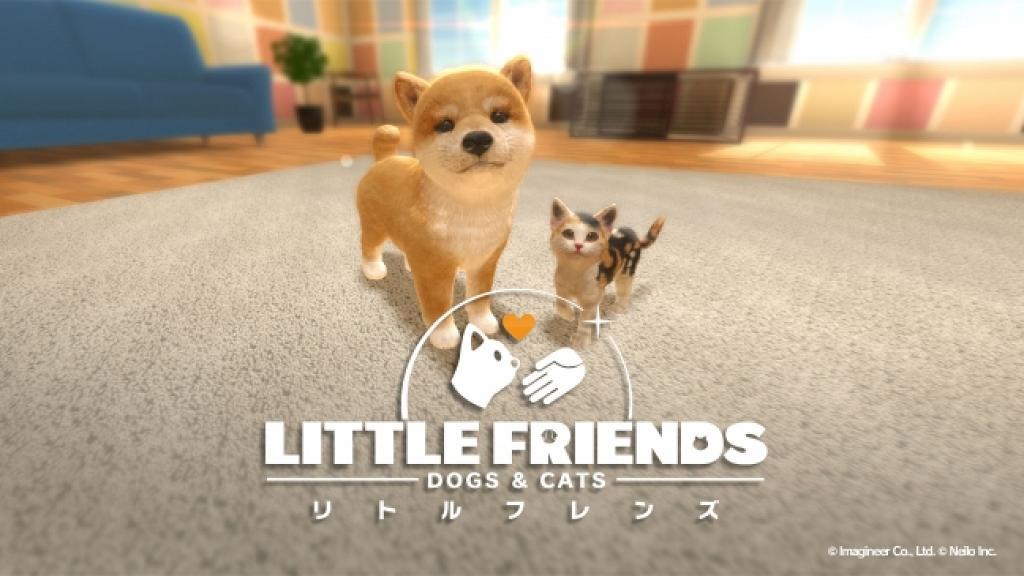 Switch《Little Friends: Dogs & Cats》12月登場 超可愛育成Game體驗養毛孩!