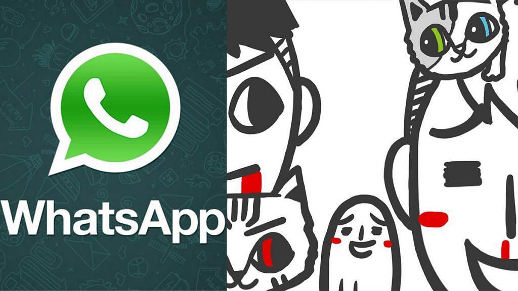 插畫家「爵爵&貓叔」作品被盜用 WhatsApp自製貼圖存漏洞引關注