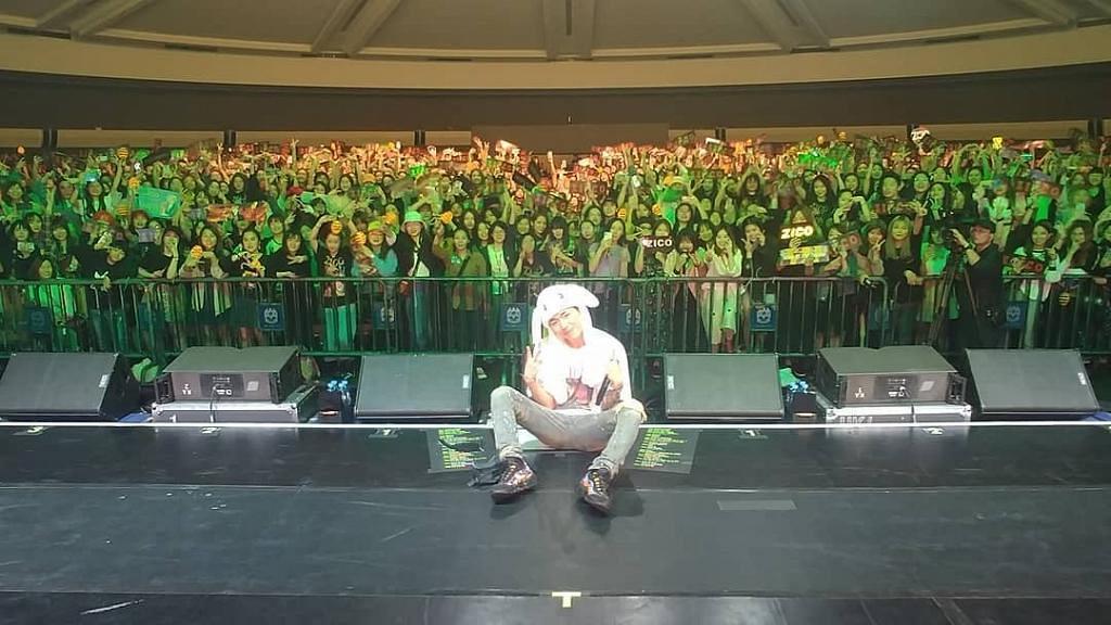【Zico演唱會】首度來港舉行個人演唱會 Zico大曬廣東話冧歌迷